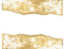 Stara papierowa tekstura na białym tle Zdjęcia Stock