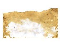 Stara papierowa tekstura na białym tle Zdjęcie Royalty Free