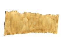 Stara papierowa tekstura na białym tle obrazy stock