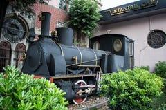 Stara parowa lokomotywa Obraz Royalty Free