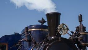 Stara parowa lokomotywa zbiory
