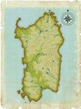 stara pełnoletnia mapa Obrazy Stock