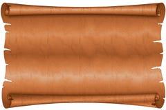 stara pergaminowa ślimacznica Zdjęcie Stock