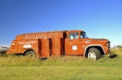 Stara Philips 66 gazu ciężarówka zdjęcia royalty free