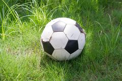 stara piłka Fotografia Stock