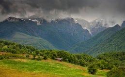 Stara planina mountain. Natural view in Stara planina mountain in Bulgaria Stock Photography