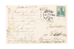Stara pocztówka Obraz Stock