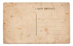 stara pocztówka Obrazy Royalty Free