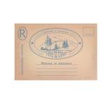 stara pocztówka Zdjęcia Royalty Free