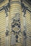 Stara pocztówka jeden dziejowy budynek Timisoara, Rumunia 21 Obraz Stock