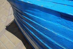 Stara podława błękitna i białe dwa łodzi Zdjęcie Royalty Free