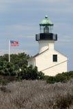 Stara point loma latarnia morska Obraz Royalty Free
