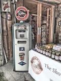 stara pompa benzynowa Obrazy Royalty Free