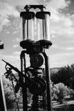 stara pompa paliwowa Obraz Royalty Free