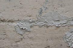 Stara popielata betonowa tekstury ściana fotografia royalty free