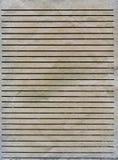 Stara prążkowana papierowa tekstura Fotografia Royalty Free