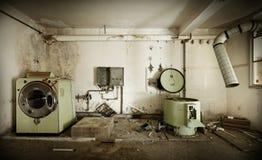 Stara pralnia obrazy stock