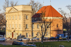 Stara Prochownia theater in Warsaw Royalty Free Stock Image