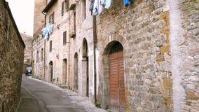 Stara pusta włoska ulica zbiory