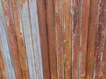 Stara rdzewiejąca żelazna bramy tekstura Obrazy Stock
