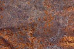 Stara rdzewiejąca metal powierzchnia fotografia royalty free