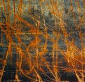 Stara rdzy żelaza metalu tekstura. zdjęcie stock