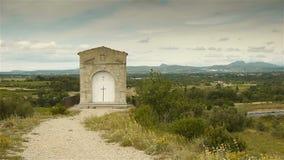 Stara religijna kopuła, Languedoc Francja zdjęcie wideo