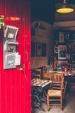 Stara retro kawiarnia zdjęcie royalty free
