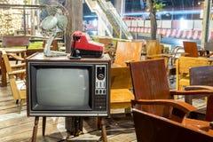 Stara retro telewizja Fotografia Stock