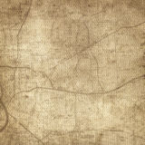 Stara rocznik mapa obraz stock