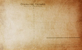 Stara rocznik pocztówka Fotografia Stock