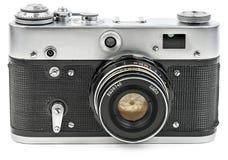 Stara rocznika filmu kamera odizolowywająca na bielu Obraz Royalty Free