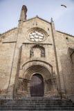Stara romańszczyzny katedra Plasencia Zdjęcia Stock