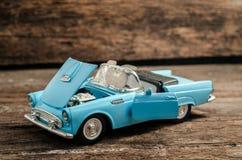 Stara samochód zabawka fotografia royalty free