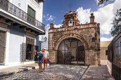 Stara San Juan kaplica Zdjęcia Stock