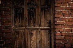 stara się drzwi Obrazy Royalty Free