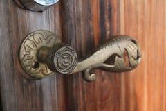 stara się drzwi obraz stock