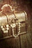 stara skrzynia skarbów Fotografia Royalty Free