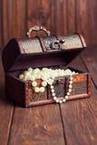 stara skrzynia skarbów Fotografia Stock
