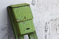Stara skrzynka pocztowa dla listów i gazet Fotografia Royalty Free