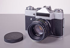 Stara sowieci filmu SLR kamera Obraz Royalty Free