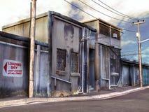 stara spokojna ulica Obrazy Stock