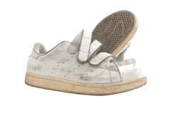 Stara sportów butów para Zdjęcie Stock
