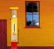 stara stacja benzynowa Zdjęcia Royalty Free
