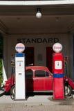 stara stacja benzynowa Obrazy Stock