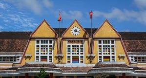 Stara stacja kolejowa w Dalat, Wietnam obraz royalty free