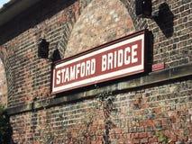 Stara stacja przy Stamford mostem, Yorkshire Obrazy Stock