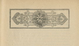Stara starzejąca się grungy książka papieru prześcieradła strony winieta, odizolowywająca ramowa tło kopii przestrzeń Zdjęcie Royalty Free