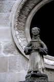 Stara statua michaelita zdjęcia stock