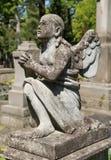 Stara statua na grób Zdjęcie Stock